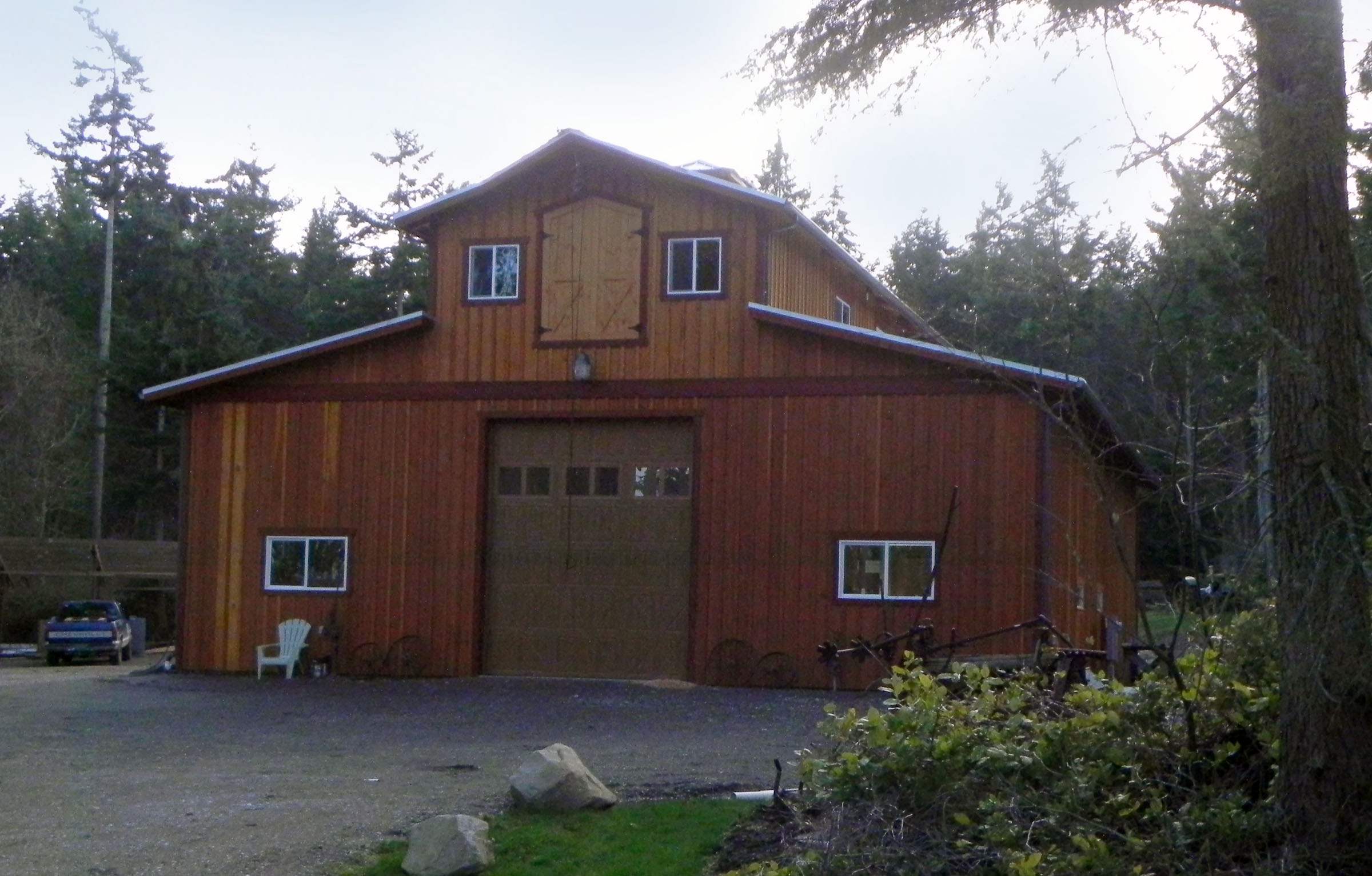 Pole building gallery for 2 story barns